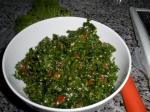 The Way Tabouli is Supposed To Look