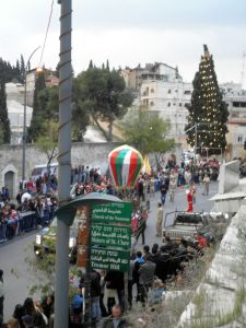 Christmas Parade In Nazareth