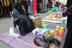 Selling Samna sacks and Jars