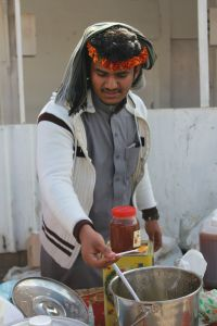 Yemeni Honey Vendor